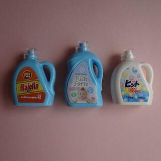 エポック(EPOCH)のミニチュア 洗剤 3個セット ガチャ(その他)
