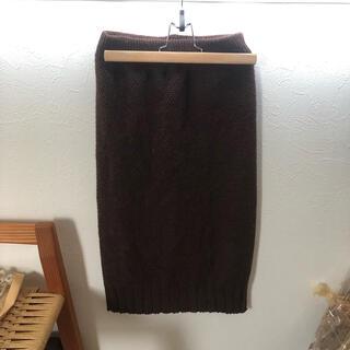 グレイル(GRL)のニットスカート(ひざ丈スカート)