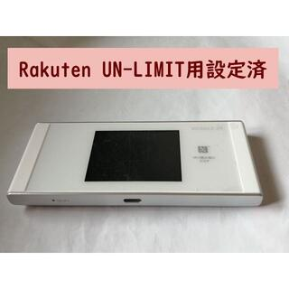 WiMAX 2+ Speed Wi-Fi W05 楽天UN-LIMIT設定済(PC周辺機器)