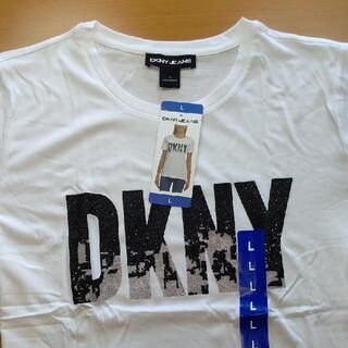 ダナキャランニューヨーク(DKNY)のDKNY レディース 半袖 Tシャツ スポーツウェア 部屋着 Lサイズ(Tシャツ(半袖/袖なし))