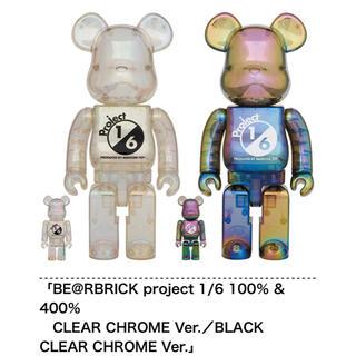 メディコムトイ(MEDICOM TOY)のBE@RBRICK project 1/6 100% & 400% セット(模型/プラモデル)