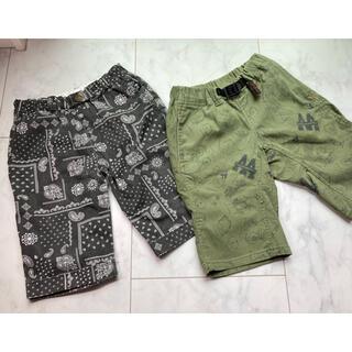 BREEZE - 子供服 サイズ130 ハーフパンツ 2枚セット breeze