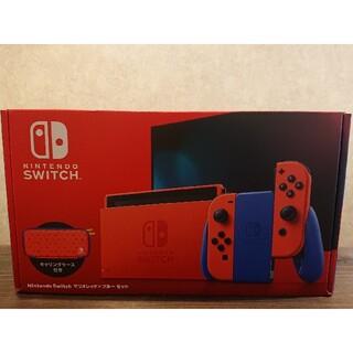 ニンテンドースイッチ(Nintendo Switch)の任天堂 Switchマリオレッド×ブルーセット(家庭用ゲーム機本体)