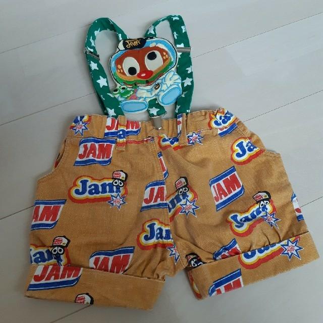 JAM(ジャム)のJAM ショートパンツ サスペンダー付き サイズ100 キッズ/ベビー/マタニティのキッズ服男の子用(90cm~)(Tシャツ/カットソー)の商品写真
