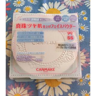 CANMAKE - キャンメイク トランスペアレントフィニッシュパウダー シャイニーシーサイド SS