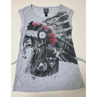 マンゴ(MANGO)のMANGO ネイティブアメリカン Tシャツ(シャツ/ブラウス(半袖/袖なし))