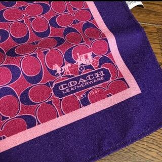 コーチ(COACH)のCOACH x MISS(女性誌) コラボ スカーフ ノベルティ(バンダナ/スカーフ)