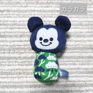 ガラガラ ラトル おもちゃ ぬいぐるみ ディズニー ミッキー  ベビー(がらがら/ラトル)