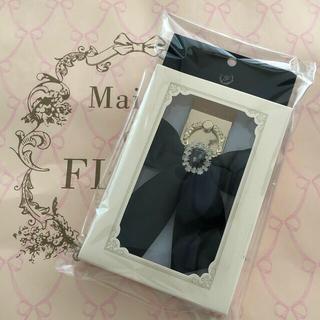 メゾンドフルール(Maison de FLEUR)の◆新品◆メゾンドフルール♡完売色♡ブラック♡大人気♦︎ビジュースマホリング♦︎(その他)