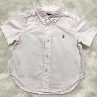 ラルフローレン(Ralph Lauren)のRALPH LAUREN 半袖シャツ 半袖 トップス 子供服 80cm 90cm(シャツ/カットソー)
