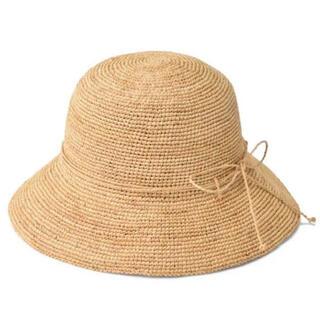 ムジルシリョウヒン(MUJI (無印良品))の無印良品 麦わら帽子 ストローハット キャペリン(麦わら帽子/ストローハット)