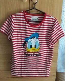 ディズニー(Disney)のドナルドTシャツ(Tシャツ(半袖/袖なし))