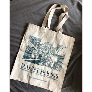 ハロッズ(Harrods)のDaunt Books 日本未発売トートバッグ 新品(トートバッグ)