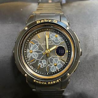 ベビージー(Baby-G)のCASIO baby-G BGA-150FL-1AJF【ブラック】(腕時計)