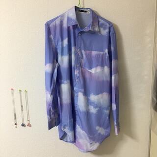 ミルクボーイ(MILKBOY)のM I LKBOY空色シャツ(シャツ/ブラウス(半袖/袖なし))