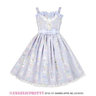 アンジェリックプリティー(Angelic Pretty)のAngelic Pretty×wish me mell ジャンパースカート(ひざ丈ワンピース)