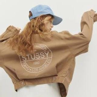 ステューシー(STUSSY)のstussywomen デニムジャケット(Gジャン/デニムジャケット)