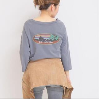 ドゥーズィエムクラス(DEUXIEME CLASSE)のバックプリントシャツ(Tシャツ(長袖/七分))