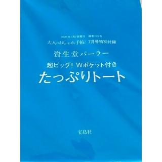 シセイドウ(SHISEIDO (資生堂))の大人のおしゃれ手帖 7月号付録 資生堂パーラー たっぷりトート(トートバッグ)