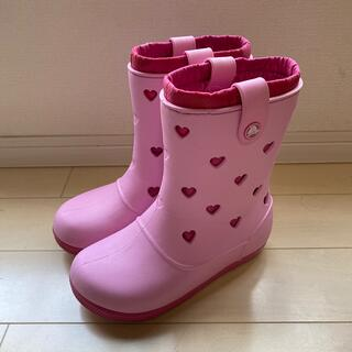 クロックス(crocs)のcrocs クロックス 女の子 長靴 レインブーツ(レインブーツ/長靴)