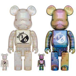 BE@RBRICK project 1/6 CLEAR CHROMEセット(その他)