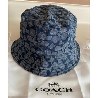 コーチ(COACH)のコーチ ハット シグネチャー リバーシブル 帽子 ブティックモデル(ハット)