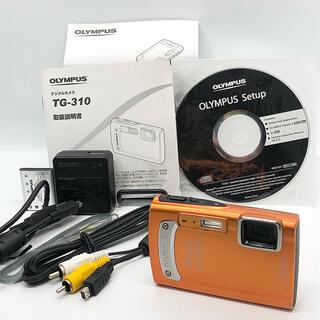 OLYMPUS - OLYMPUS 防水デジタルカメラ TOUGH TG-310 オレンジ