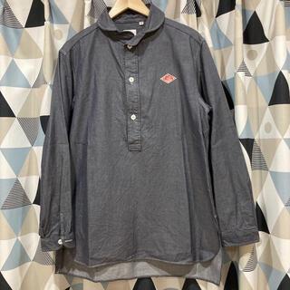 ダントン(DANTON)のダントン ショールカラープルオーバーシャツ 丸襟 ロングシャツ(シャツ)