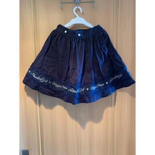 メゾピアノジュニア(mezzo piano junior)のmezzo piano スカート 140サイズ(スカート)