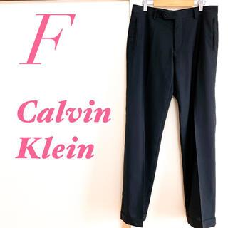 カルバンクライン(Calvin Klein)のCalvin Klein カルバンクライン パンツ ストライプ 大人 ブラック(カジュアルパンツ)