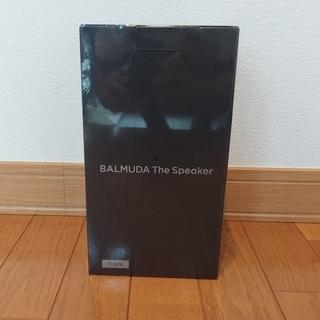 バルミューダ(BALMUDA)の新品未開封 BALMUDA The Speaker M01A-BK  (スピーカー)