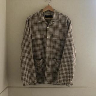 1LDK SELECT - mfpen 20ss work shirt サイズM