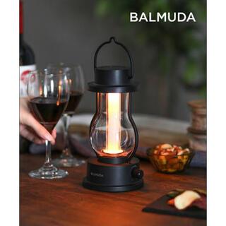 バルミューダ(BALMUDA)の新品未開封 BALMUDA バルミューダ The Lantern  ランタン 黒(ライト/ランタン)