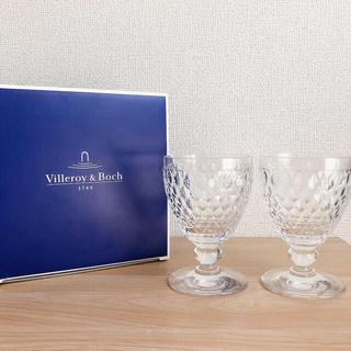 ビレロイ&ボッホ - 【新品】ビレロイ&ボッホ ボストン ペアワイングラス