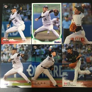 トウキョウヤクルトスワローズ(東京ヤクルトスワローズ)の6枚 原樹理 ヤクルト プロ野球カード (スポーツ選手)