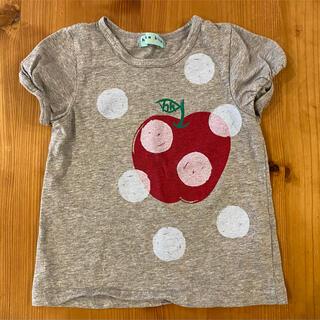 hakka kids - ハッカキッズ りんご柄 Tシャツ サイズ110