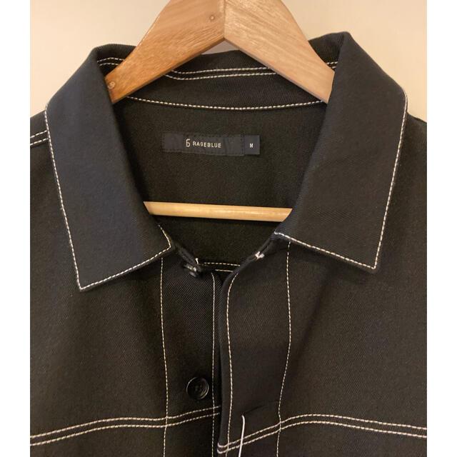 RAGEBLUE(レイジブルー)のブルゾン ステッチショート ジャケット メンズのジャケット/アウター(ブルゾン)の商品写真