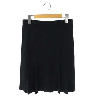 クロエ(Chloe)のクロエ Aラインスカート 膝丈 34 黒 ブラック /HK ■OS(ひざ丈スカート)