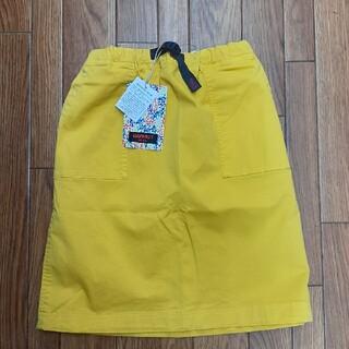 GRAMICCI - 未使用 グラミチ キッズ 150 USA スカート イエロー ガールズ 黄色