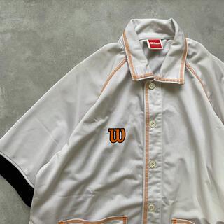 wilson - 【USED】ジャージーシャツ wilson