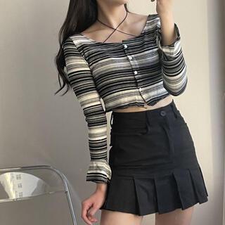 スタイルナンダ(STYLENANDA)の【予約商品】《2カラー》プリーツ ミニ スカート ハイティーン 韓国ファッション(ミニスカート)