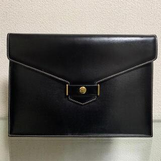 クリスチャンディオール(Christian Dior)の良品 ディオール クラッチバッグ ヴィンテージ エンベロープ CDロゴ(クラッチバッグ)