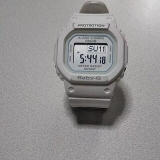 ベビージー(Baby-G)のカシオベビージーBGD―560 白中古品完全稼働中ジャンク(腕時計)
