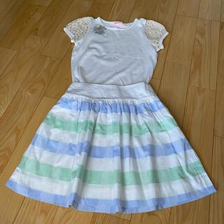 ファミリア(familiar)の美品 ファミリア   スカート 140(スカート)
