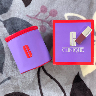 クリニーク(CLINIQUE)のクリニーク オリジナル ポーチ リップ セット 新品(リップグロス)