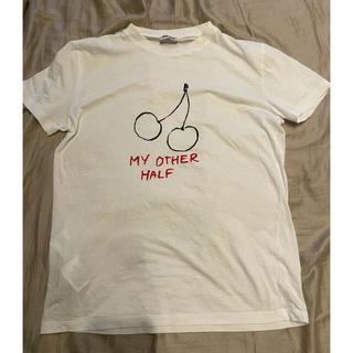ミュウミュウ(miumiu)のmiumiu チェリーTシャツ(Tシャツ(半袖/袖なし))