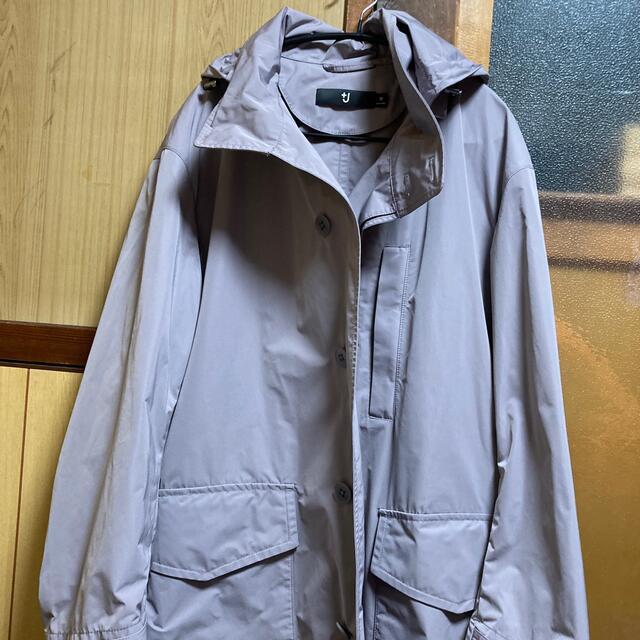 UNIQLO(ユニクロ)の【ユニクロ×ジルサンダー】+Jオーバーサイズフーデッドロングコート メンズのジャケット/アウター(ステンカラーコート)の商品写真