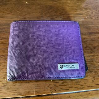 ブラックレーベルクレストブリッジ(BLACK LABEL CRESTBRIDGE)のBLACK LABEL CRESTBRIDGE 財布(折り財布)