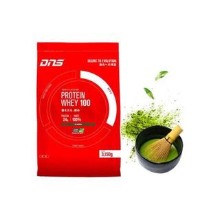 ディーエヌエス(DNS)のディーエヌエス ホエイ100 抹茶風味 3150g 90食入(プロテイン)