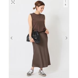 ドゥーズィエムクラス(DEUXIEME CLASSE)のDeuxieme Classe Vintage Satin スカート(ロングスカート)
